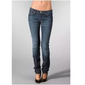 7 for all Mankind Roxanne Jeans Rhinestone Bum 27